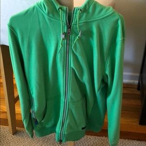 e4a06694539a Nike 6.0 men s hoodie green water resistant ...